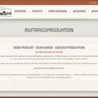 Dienstleistung - Auftragsproduktion