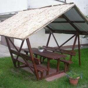Schilfplatte 2cm_Imbisshütte_Dach